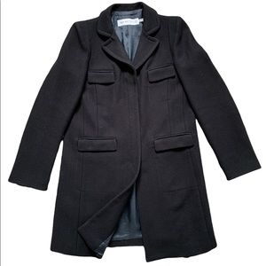 See By Chloe navy blue will blend coat size 2-4 US